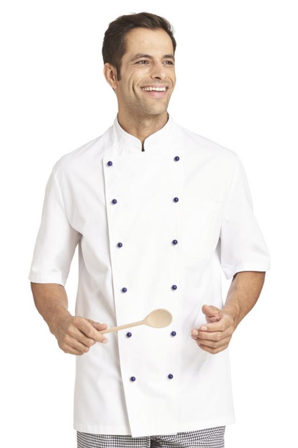Kochjacke Herren kurzarm